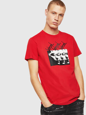T-DIEGO-J12, Rosso - T-Shirts