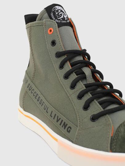 Diesel - S-DVELOWS ML, Verde Militare - Sneakers - Image 4