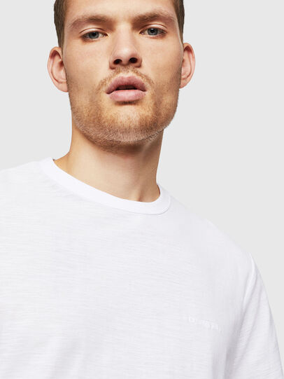 Diesel - T-TARRIS, Bianco - T-Shirts - Image 3