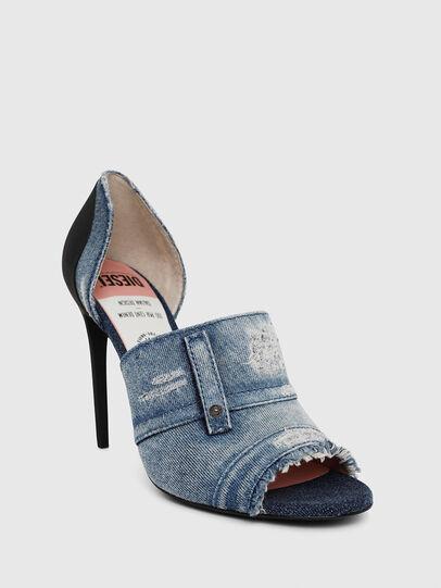 Diesel - SA-SLANTY OTD, Blu Jeans - Sandali - Image 4