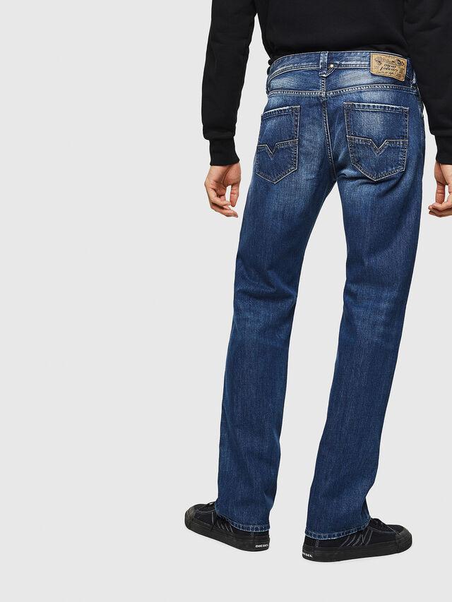 Diesel - Larkee 008XR, Blu Scuro - Jeans - Image 2
