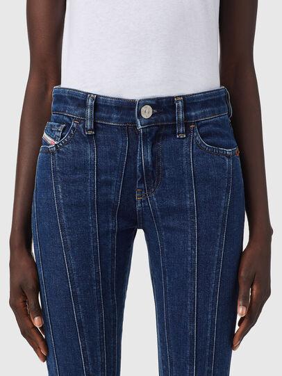 Diesel - Slandy 09B10, Blu medio - Jeans - Image 3