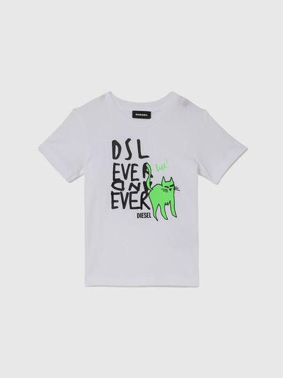Diesel - TORTUB-R, Bianco - T-shirts e Tops - Image 1