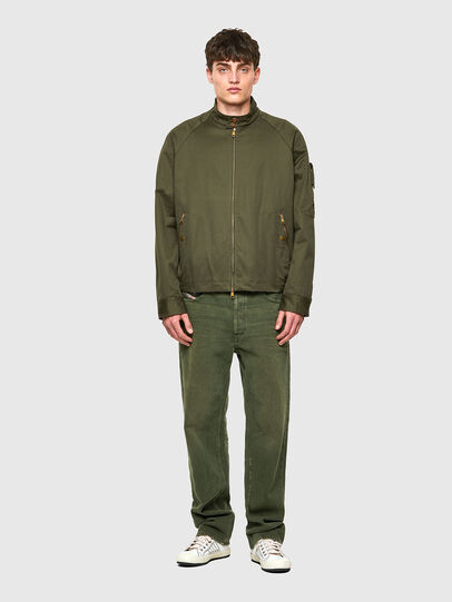 Diesel - J-HARRY, Verde Scuro - Giacche - Image 4