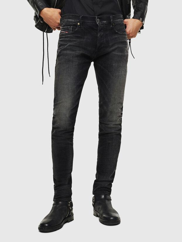 Tepphar 0098B, Nero/Grigio scuro - Jeans