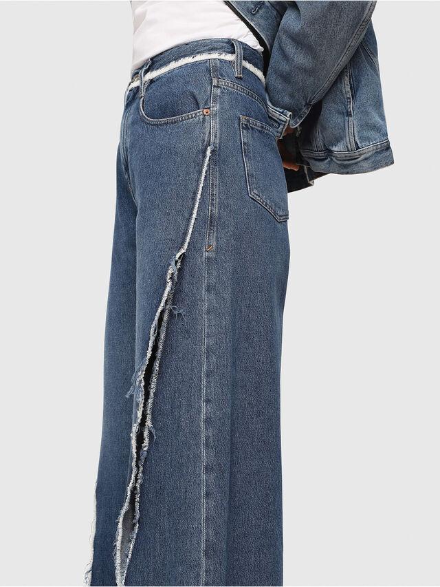 Diesel - D-Izzier 080AN, Blu medio - Jeans - Image 3