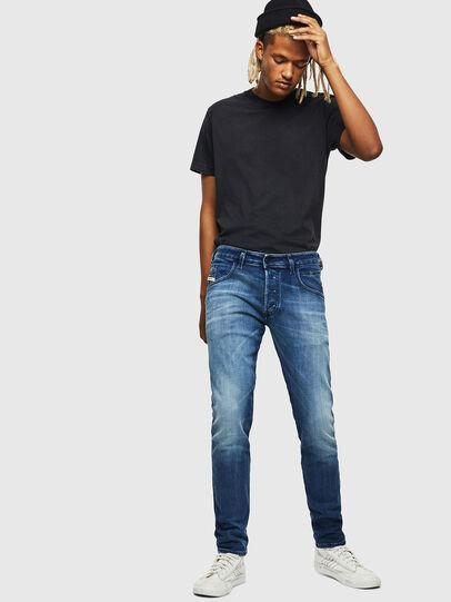 Diesel - D-Bazer 0097Y, Blu medio - Jeans - Image 5