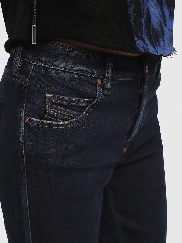 Diesel - Babhila 084YD, Blu Scuro - Jeans - Image 5