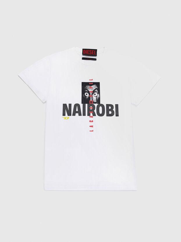 LCP-T-DIEGO-NAIROBI, Bianco - T-Shirts