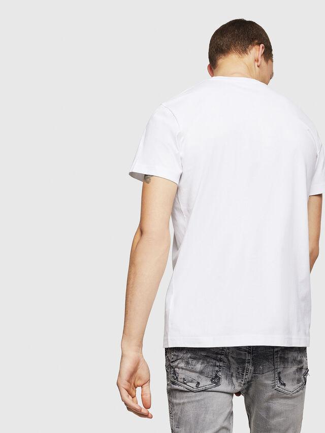 Diesel - T-DIEGO-B6, Bianco - T-Shirts - Image 2