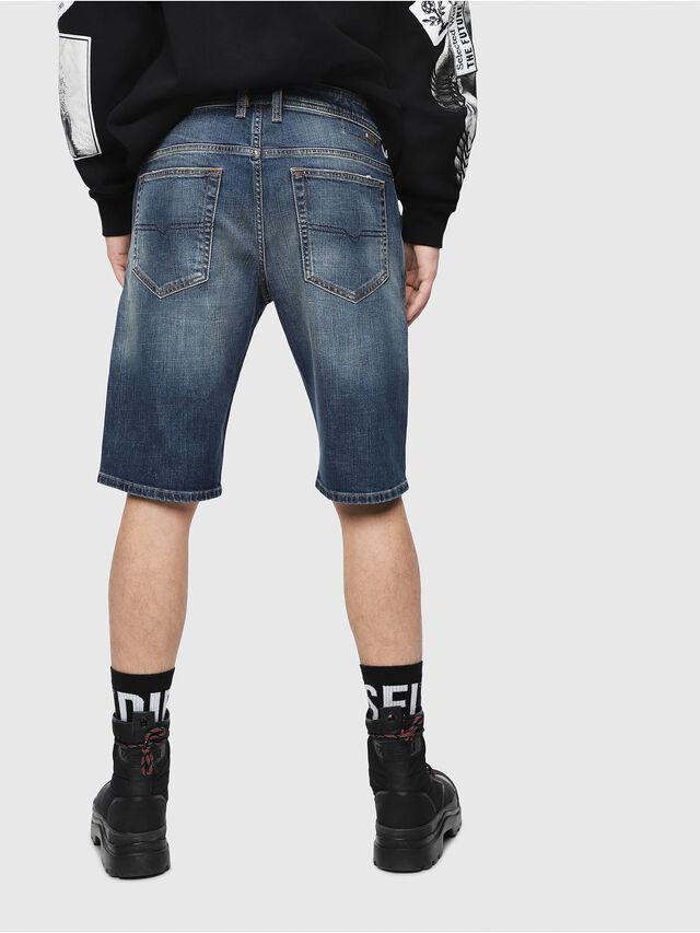 Diesel - THOSHORT, Blu Scuro - Shorts - Image 2