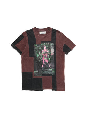 D-FRANK&STEIN, Borgogna - T-Shirts