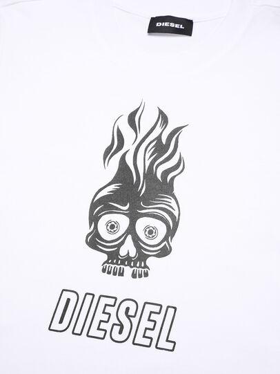 Diesel - TUSILYWQ, Bianco - T-shirts e Tops - Image 3