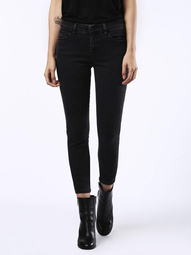 SLANDY 0680I, Nero Jeans
