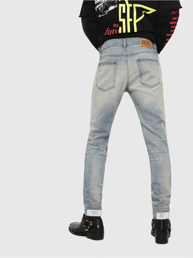 Diesel - D-Strukt 081AP, Blu Chiaro - Jeans - Image 2