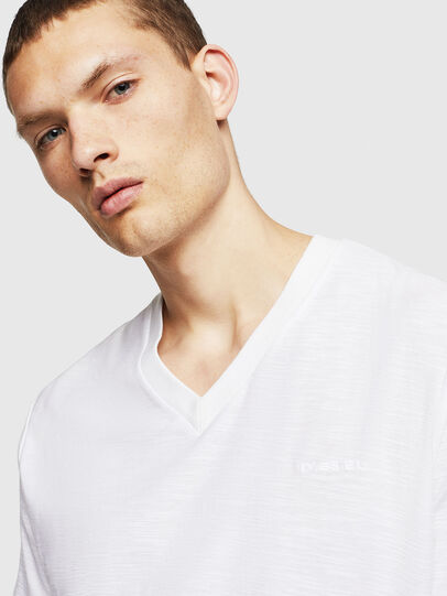 Diesel - T-RANIS, Bianco - T-Shirts - Image 3