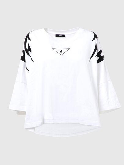 Diesel - T-CRAMBLE-E80, Bianco - T-Shirts - Image 1