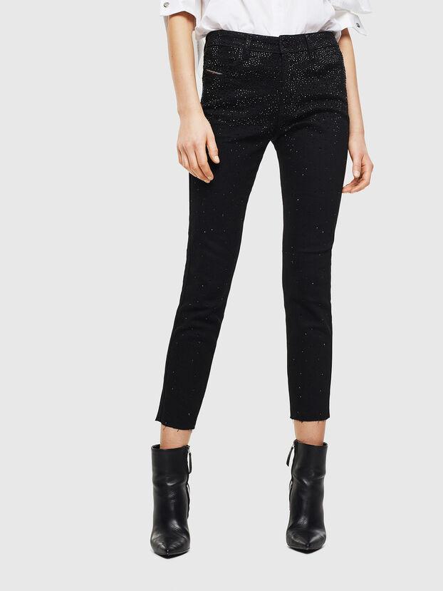 Babhila 0093R, Nero/Grigio scuro - Jeans