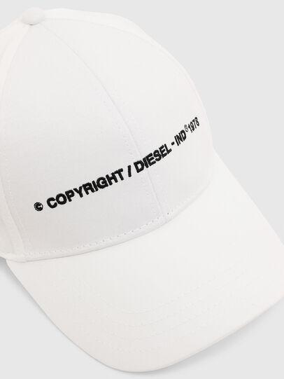 Diesel - COMIXI, Bianco - Cappelli - Image 3