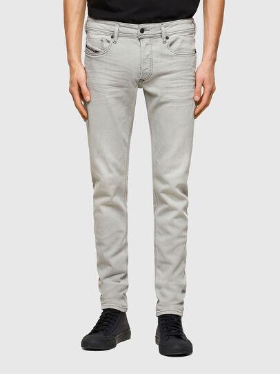 Diesel - Sleenker 009PY, Grigio Chiaro - Jeans - Image 1