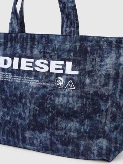 Diesel - D-THISBAG SHOPPER L, Blu Jeans - Shopper e Borse a Spalla - Image 3