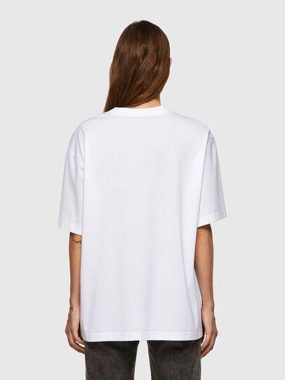 Diesel - T-SHARP, Bianco - T-Shirts - Image 2