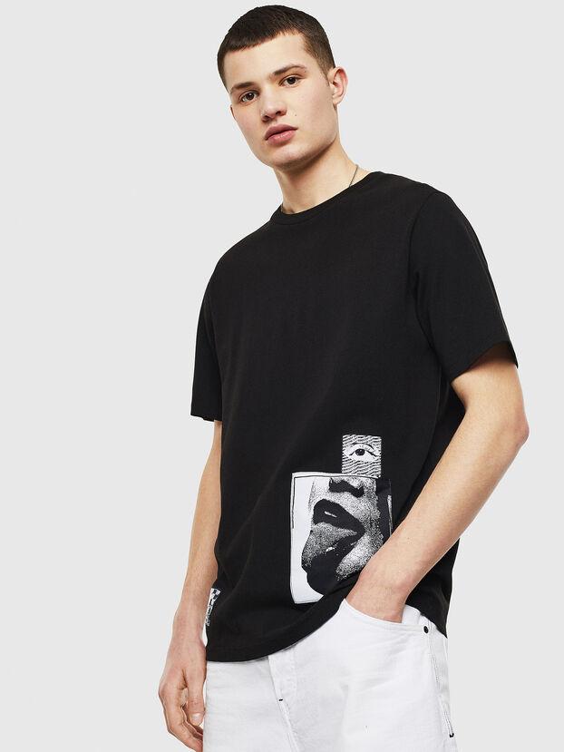 T-JUST-T18, Nero - T-Shirts