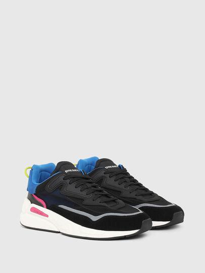 Diesel - S-SERENDIPITY SM, Nero/Blu - Sneakers - Image 2