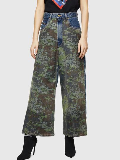 Diesel - D-Luite 0078E, Blu medio - Jeans - Image 1