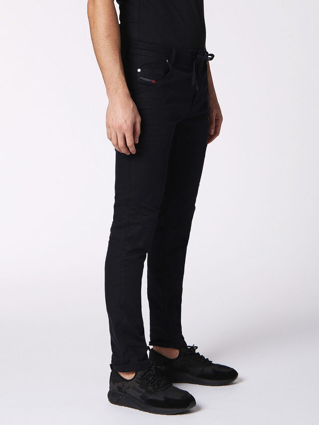KROOLEY CB-R JOGGJEANS 0689C, Nero Jeans