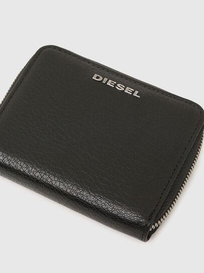 Diesel - CRASSU, Nero/Blu - Portafogli Con Zip - Image 4