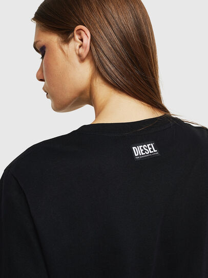Diesel - T-DARIA-K, Nero - T-Shirts - Image 3