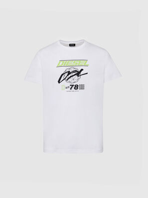 T-DIEGOS-K34, Bianco - T-Shirts