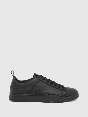Sneaker basse Green Label in pelle rigenerata