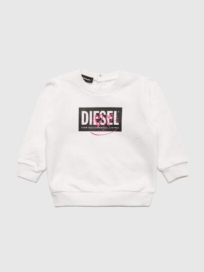 Diesel - SOOLB, Bianco - Felpe - Image 1