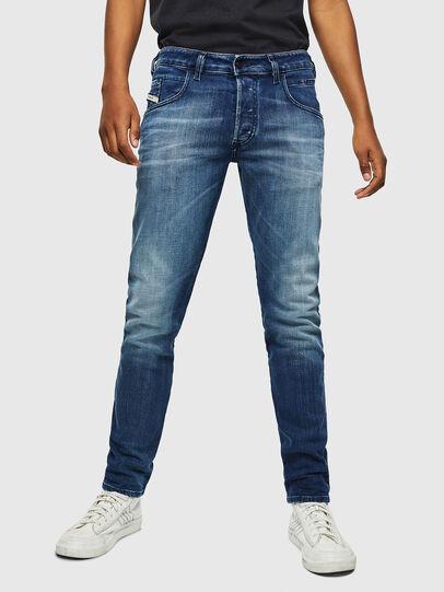 Diesel - D-Bazer 0097Y, Blu medio - Jeans - Image 1