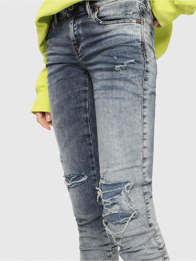 Diesel - Gracey JoggJeans 069FC, Blu Chiaro - Jeans - Image 3