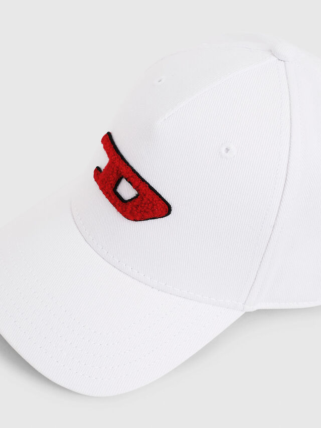 Diesel - C-DIGRA, Bianco - Cappelli - Image 3