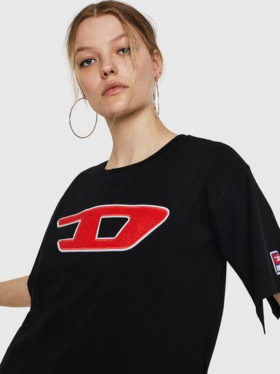 Diesel - T-JACKY-I, Nero - T-Shirts - Image 5