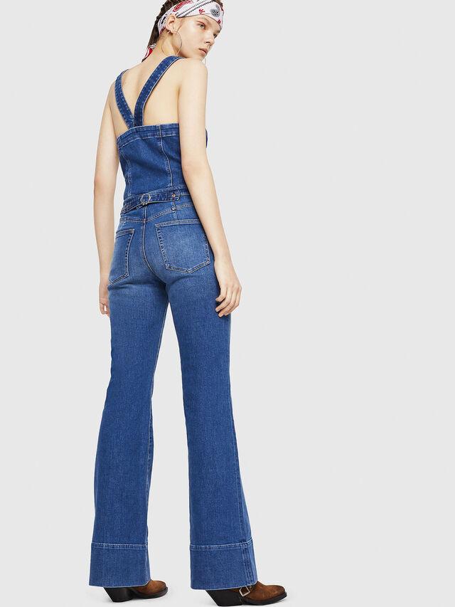 Diesel - DE-THINK, Blu Jeans - Tute e Salopette - Image 2
