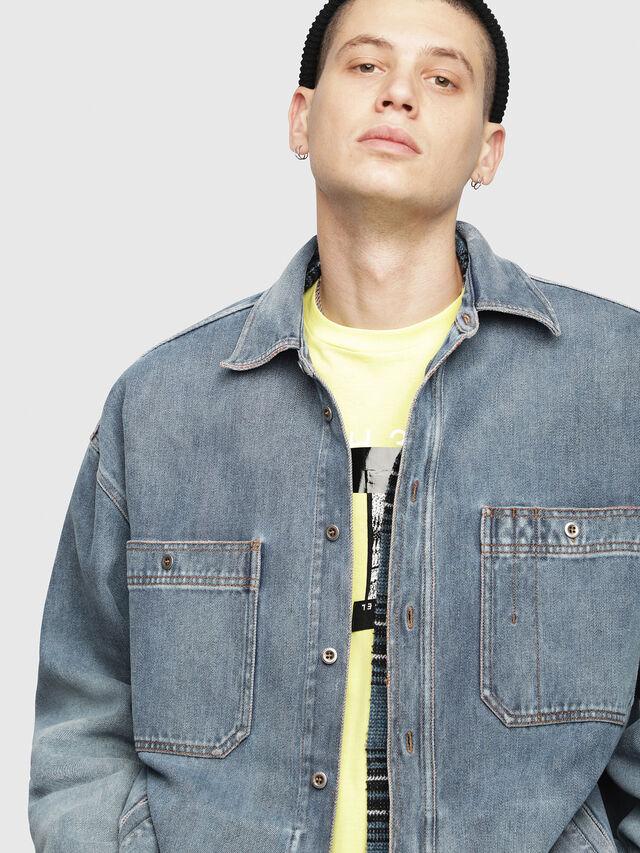 Diesel - D-LOREN, Blu Jeans - Giacche in denim - Image 5