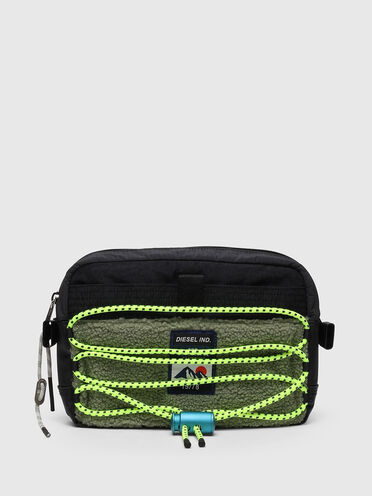 Harness bag con dettagli trekking