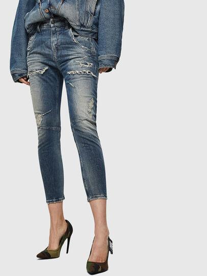Diesel - Fayza JoggJeans 0890A, Blu Chiaro - Jeans - Image 1