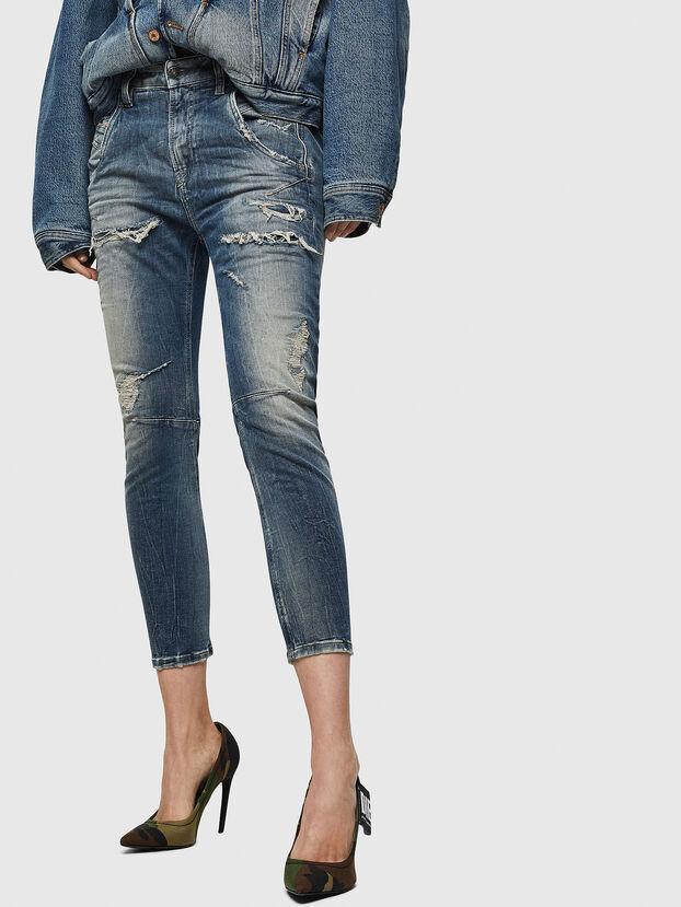 Fayza JoggJeans 0890A, Blu Chiaro - Jeans