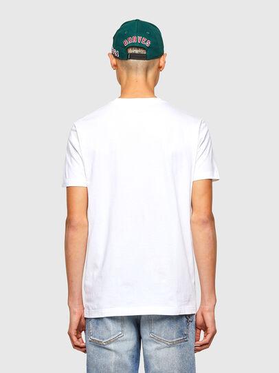 Diesel - CL-T-DIEGOS-O2, Bianco - T-Shirts - Image 3