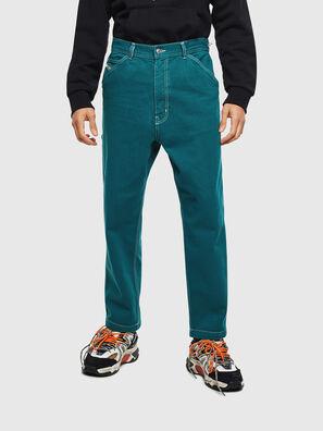 P-LAMAR, Verde - Pantaloni