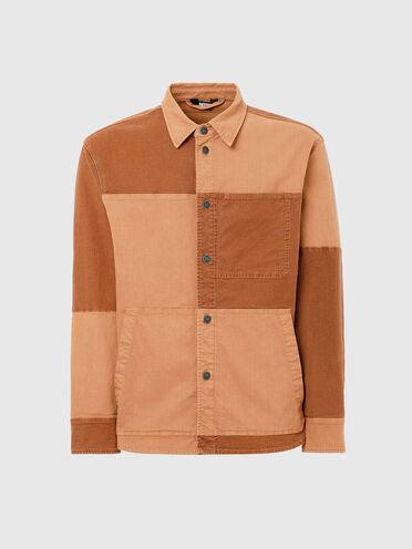Overshirt in patchwork JoggJeans®