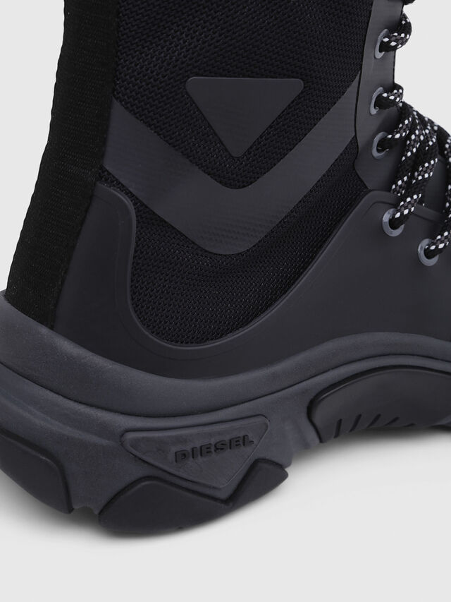 Diesel - S-KIPPER MID LACE, Nero - Sneakers - Image 4
