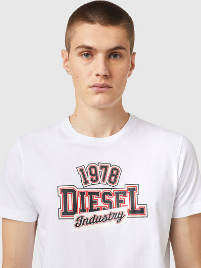 Diesel - T-DIEGOS-K26, Bianco/Rosso - T-Shirts - Image 3