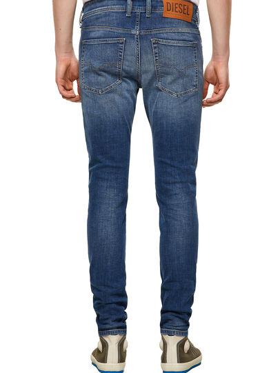 Diesel - Sleenker 09A60, Blu medio - Jeans - Image 2